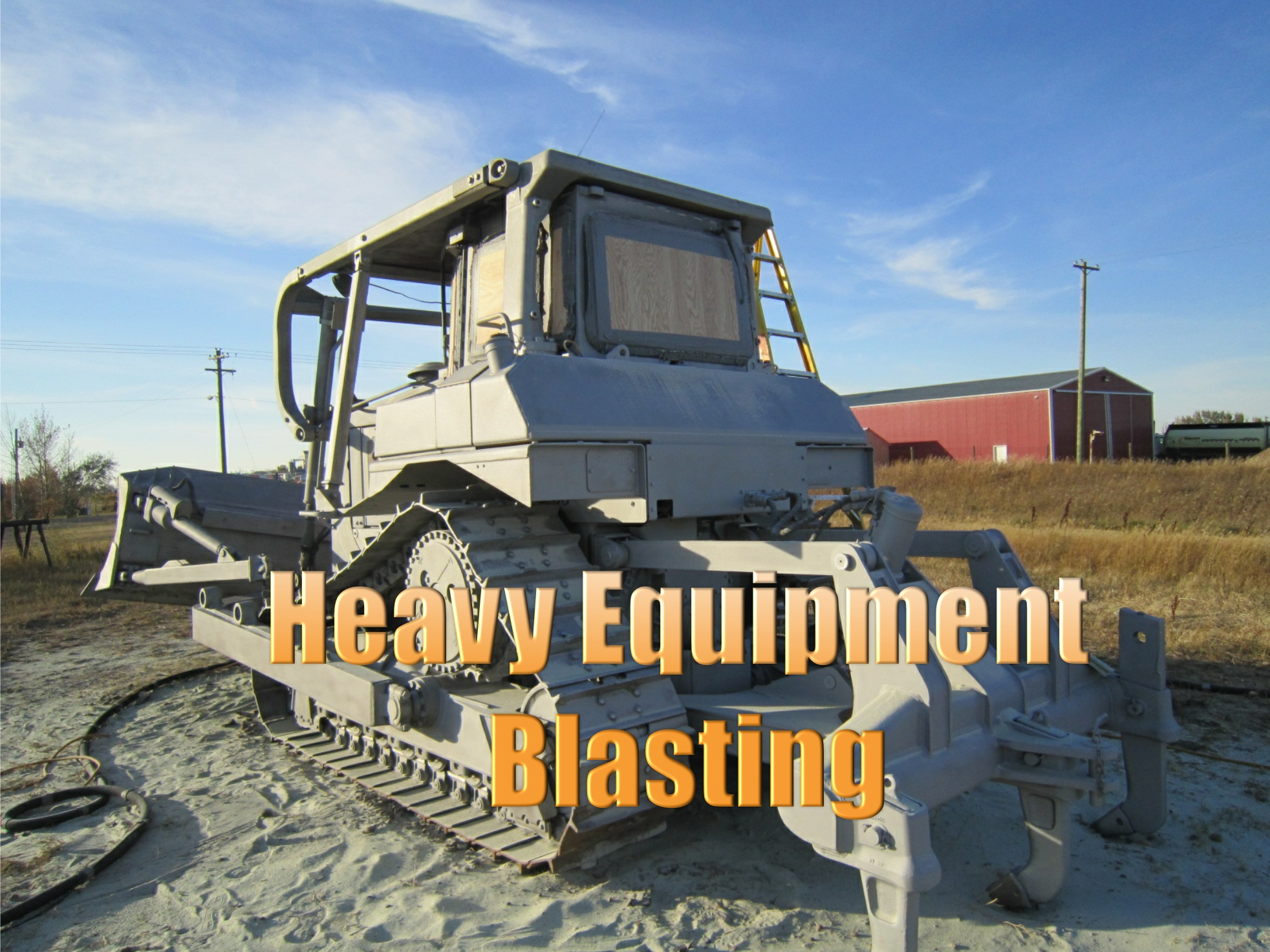 Heavy Equipment Blasting